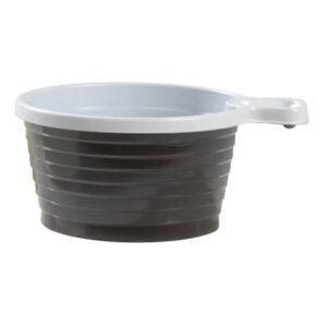 Kaffekopp Plast Brun/vit, 21cl