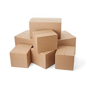 Slitslådor, kartonger, slitslåda. emballage, wellemballage